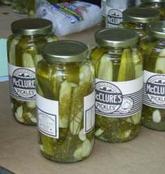 McClure's Pickles from International Pickle Day on the Lower East Side