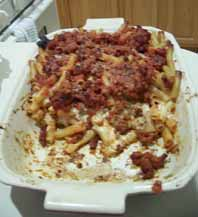 Baked Ziti with Spicy Sausage