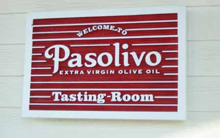 Pasolivo's Tasting Room, Paso Robles, California