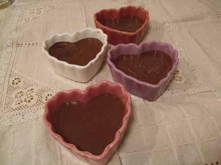 Chocolate Pots deCreme