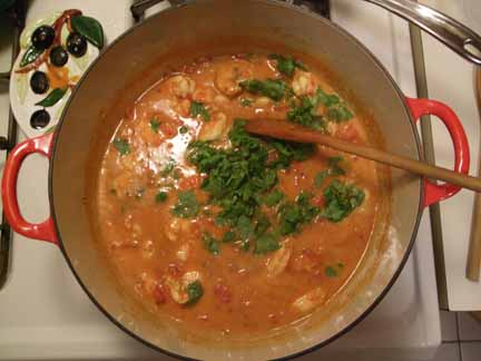Goan-Style Shrimp Curry from the New York Times
