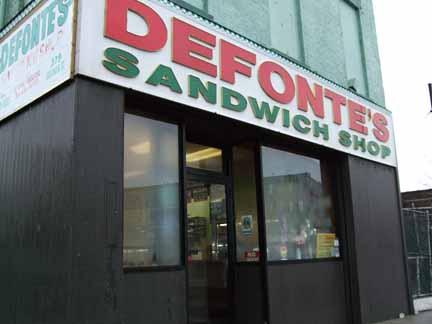 DeFonte's SandwichShop