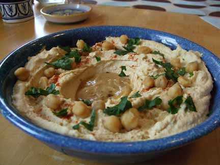 Hummus Masabacha from Food & Wine Magazine