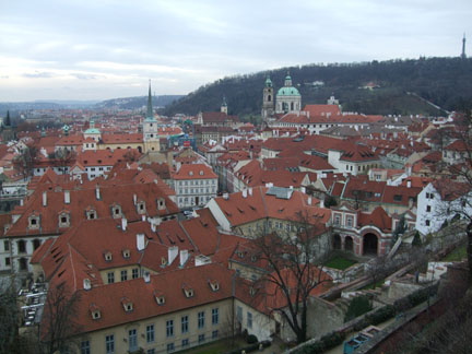 Prague, view from the Castle